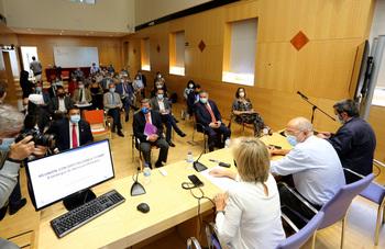 César Rico aplaude que Sanidad cuente con las diputaciones