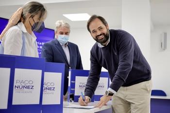 Paco Núñez, candidato único a la presidencia del PP regional
