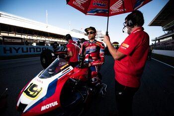 Bautista: «Llegamos a Jerez con buen ánimo»