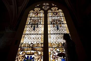 Las vidrieras de la Catedral:los colores de la luz