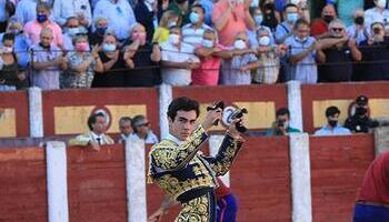 Dos orejas para Tomas Rufo en su primer toro en Talavera
