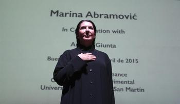 La artista Marina Abramovic gana el Princesa de las Artes