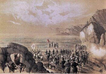 El descubrimiento del Pacífico (II)