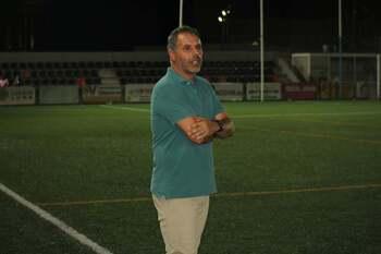 José María Rico, satisfecho con el trabajo de su equipo