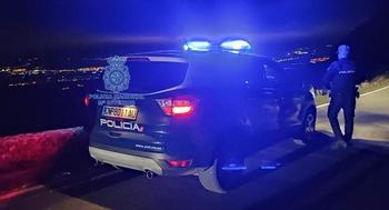 Imagen de archivo de una actuación de la Policía Nacional.