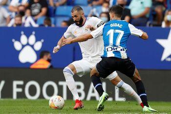 El Espanyol alarga la mala racha del Real Madrid
