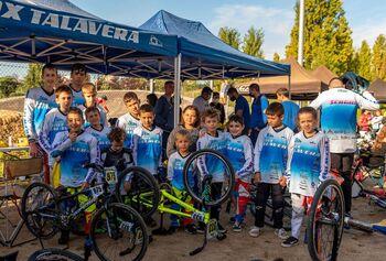 Dos metales para el BMX Talavera en la Copa de Madrid