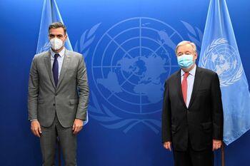 Sánchez avisa en la ONU de que la democracia 'está amenazada'