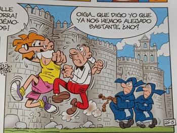 Mortadelo y Filemón visitan Ávila en una nueva aventura