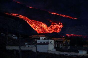 Las coladas de La Palma vuelven a ralentizarse