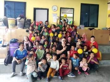Proyecto deportivo y solidario con Nepal