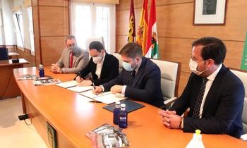 La Junta renueva el convenio del ASTRA de Cabanillas