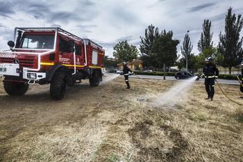 El Ayuntamiento no reducirá su plantilla de bomberos