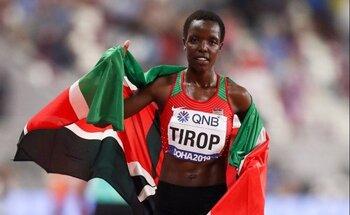 Muere apuñalada la keniata Agnes Jebet Tirop