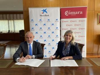 Cámara y MicroBank facilitarán la financiación de proyectos