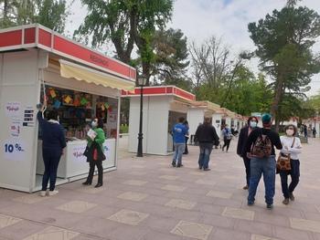 Cerca de 8.000 personas han pasado por la Feria del Libro
