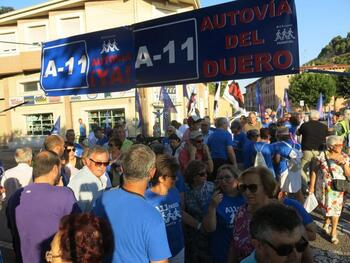 Transporte consigna 200.000 euros para la A-11 en Burgos