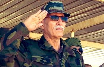 El líder del Polisario, Brahim Ghali.