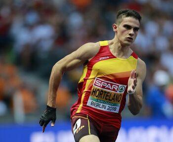 El plusmarquista nacional de 100 metros, 200 metros y 400 metros.