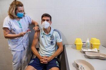 La selección recibe la vacuna