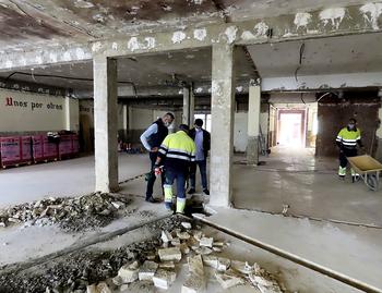 El Centro de Mayores de Villarcayo tardará meses en abrir