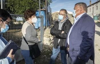El alcalde de Valdeajos denuncia una transición difícil