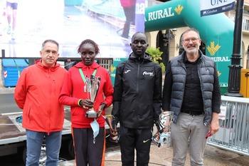 El keniano Kirui triunfa en el Maratón Ciudad de Logroño