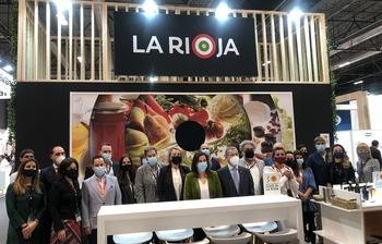 Andreu apoya la excelencia agroalimentaria en Salón Gourmets