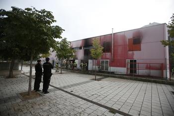 Investigan si el incendio de Pinar de Jalón fue provocado