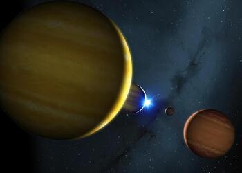 Cuatro planetas destinados a ser 'pinballs'