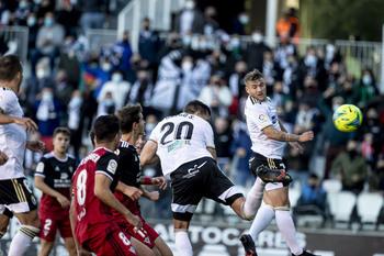 El Burgos CF se lleva el derbi ante el Mirandés
