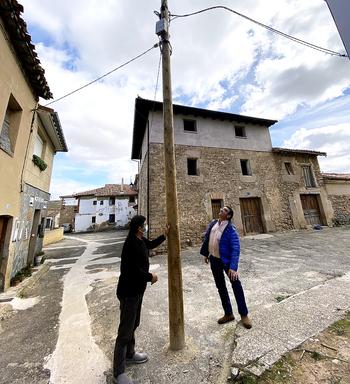 Quintanillabón pide asfaltar calles tras 40 años sin actuar