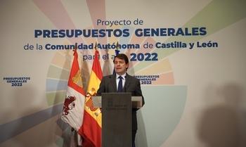 """Mañueco: """"Las cuentas van a tener un respaldo mayoritario'"""
