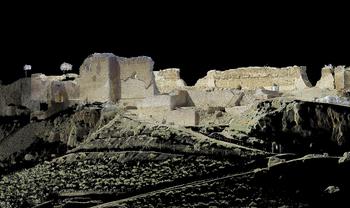 El 3d llega al Castillo de la Estrella de Montiel