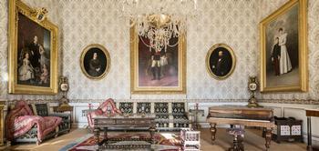 El Palacio Real de Riofrío de Segovia en fotos