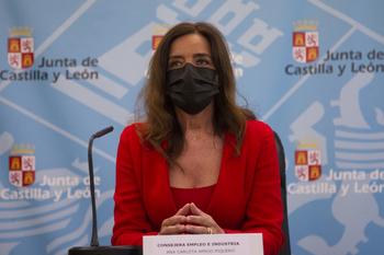 La consejera de Empleo e Industria, Ana Carlota Amigo.