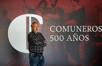 Eliseo de Pablos, director de la exposición 'Comuneros. 500 años'.