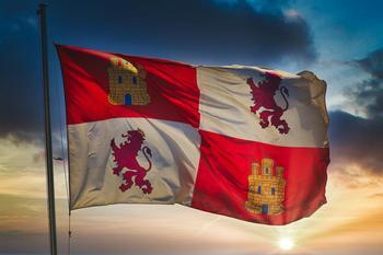 Bandera de Castilla y León.
