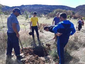 'Riofrío Verde' recupera la zona del incendio