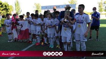 El Albacete, campeón del Torneo Regional de Fútbol 8