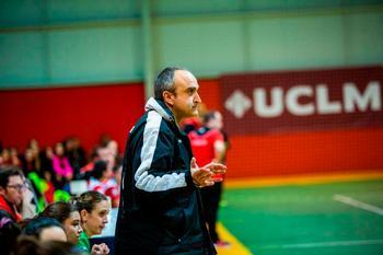 Juanmi Fernández, entrenador del Balonmano Bolaños.