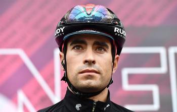 Una caída aparta a Landa del Giro