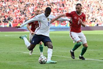Dembélé se va de la Eurocopa por una lesión de rodilla