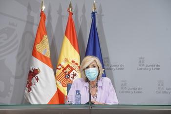 Verónica Casado, consejera de Sanidad.