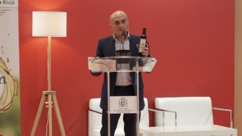 Pepe Viyuela, embajador del aceite riojano en Salón Gourmets