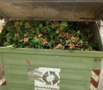 Villamediana refuerza la recogida selectiva de residuos