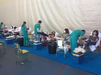 Jornada de donación de sangre en Marianistas