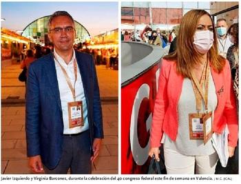 Izquierdo se centra en el PSOE y Barcones, a la Delegación