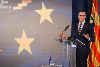Sánchez ha incluido entre las reformas la de las pensiones y la laboral.