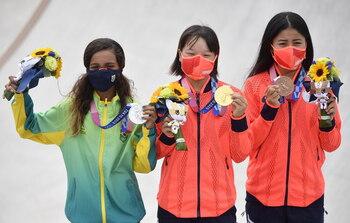 El podio más joven en la historia olímpica